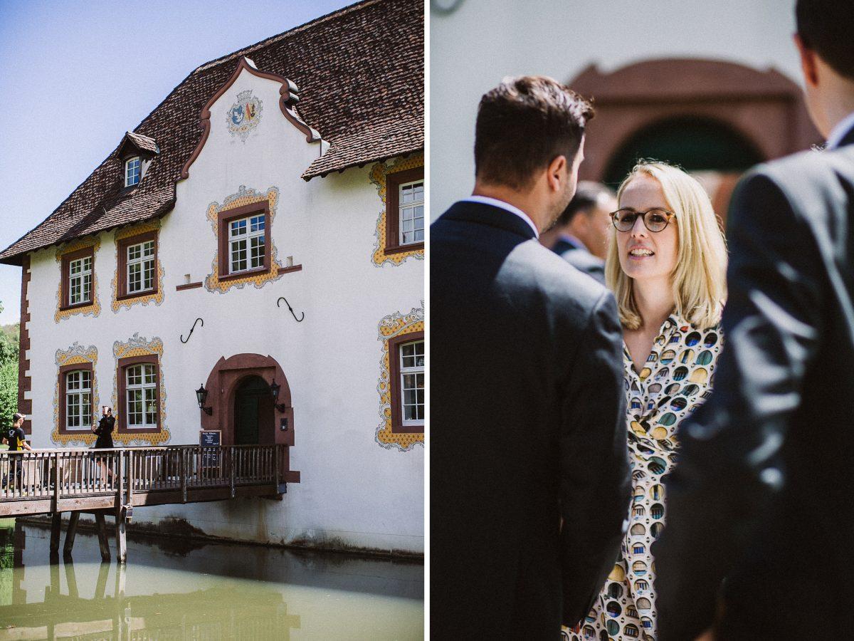 Inzlingen Wasserschloss Hochzeit